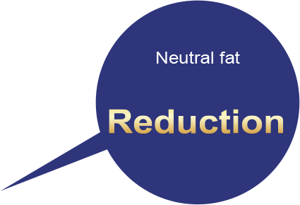 Neutral fat Reduction